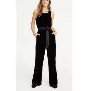 Ann Taylor Velvet Jumpsuit